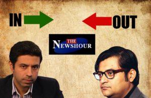 Rahul SHivshankar Replaces Arnab goswami