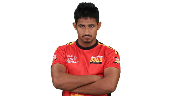 Ashiahs Kumar Bangluru bulls team for PKL