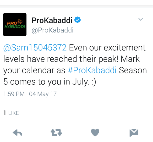 PKL season 5 will start from July 2017
