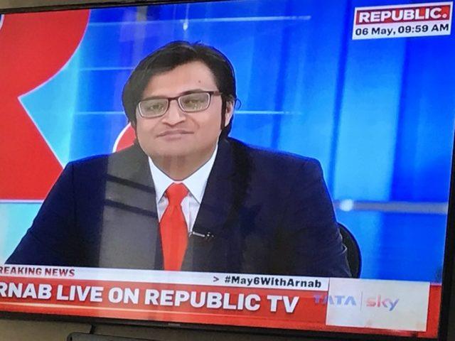 Arnab Backs with Republic Exposes Lalu Prashad