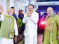 venkaiah Naidu nominated as BJP Candidate for Vice president
