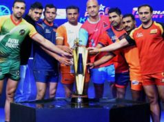 Last four season finalist team from Pro Kabaddi team