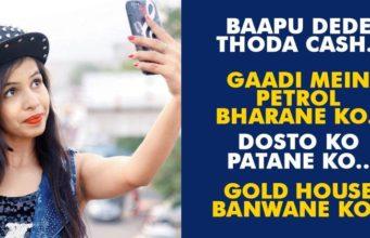 Dhinchak Pooja New song Babpu De de thoda cash