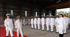 Lieutenant General Cherish Mathson took over the command of Sapta Shakti Command