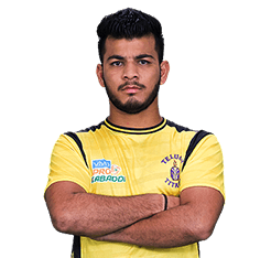 Vishal Bharadwarj  Telugu Titians Best new Kabaddi player