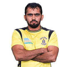 Vikas Kumar Telugu Titians Best new Kabaddi player