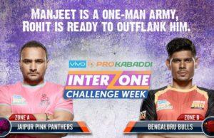 Prokabaddi 2017 jaipur vs bangalore bulls