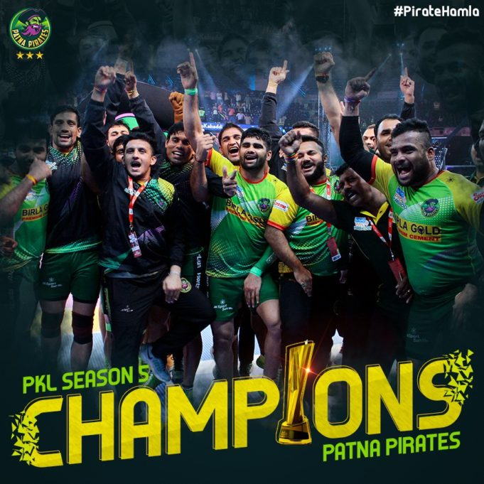 Patna Pirate create history by winning Pro Kabaddi straight 3rd season, Pardeep Narwal again becomes man of the moment