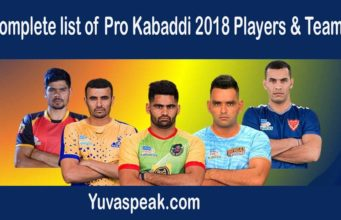 ProKabaddi 2018 : Final list of players, teams & Schedule