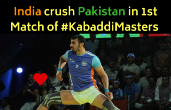 Kabaddi Masters : Dominant India crush Pakistan on 1st Match by 16 Points