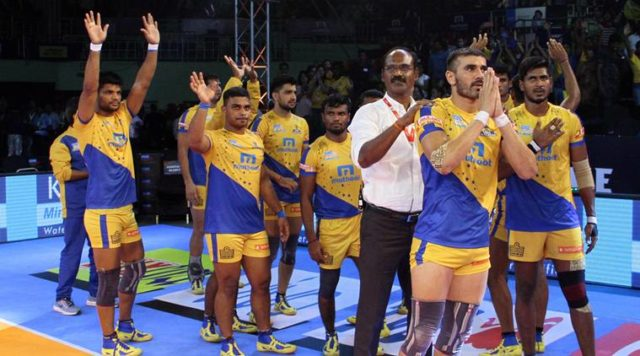Ajay Thakurs team stunned Patna Pirate in first game of Prokabaddi 2018