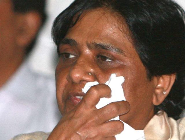 Sadhasingh make objectionable comment against Mayawati