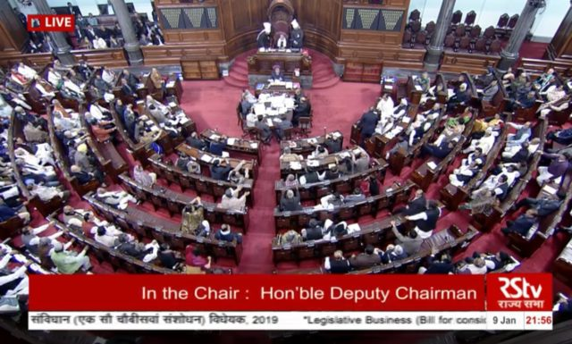 Rajyasabha passes reservation for General category : Modi calls it historic