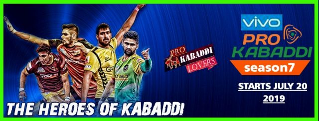 ProKabaddi 2019 Season 7is going to start from 20th of July 2019, the 1st match will be played between Telugu Titans and Umumba, We know the excitement is high and you guys want to know all the details regarding the tournament. So, with this article you ll get to know the final squad and time table.